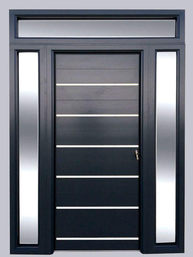 Puertas de entrada mod deluxe punto aluminio - Modelo de puertas de aluminio ...