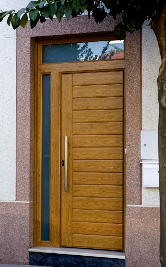 Puertas de entrada mod la palma punto aluminio for Puerta entrada aluminio