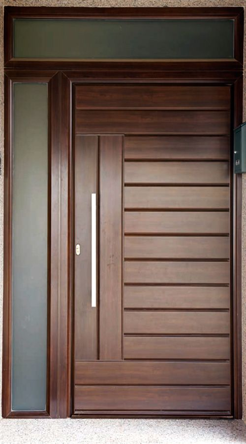 Puertas de entrada mod lanzarote punto aluminio Puertas de seguridad