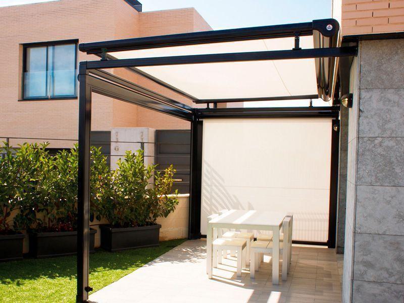 las prgolas de aluminio estn de moda son una de las mejores opciones para separar espacios en los jardines y adems son estupendas para darnos sombras - Pergola De Aluminio