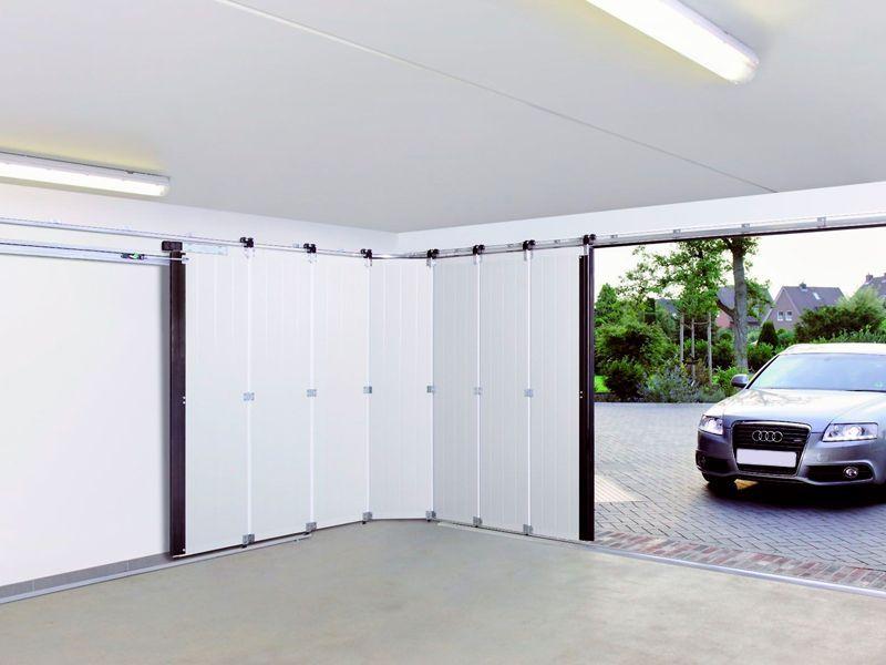 Ventajas de ahorrar espacio con puertas seccionales