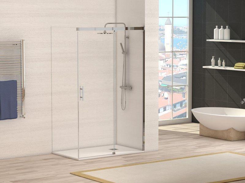 Diferentes tipos de mamparas para duchas punto aluminio - Tipos de mamparas ...