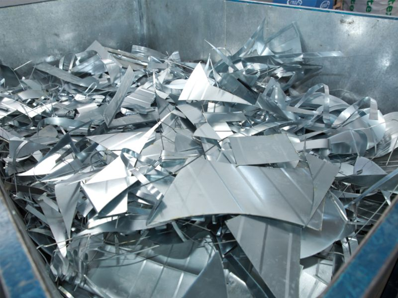 El reciclaje del aluminio.